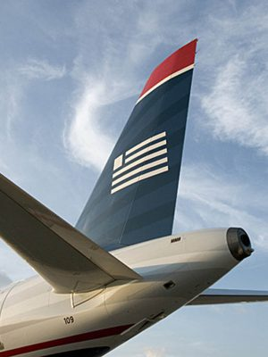 Empennage or Tailplane aircraft